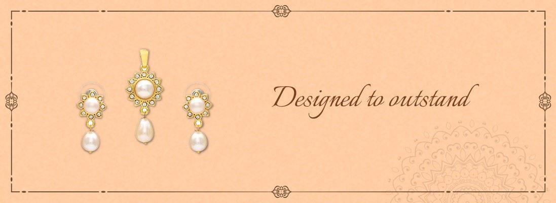 Pearl Pendant Set